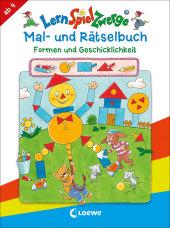 LernSpielZwerge Mal- und Rätselbuch - Formen und Geschicklichkeit