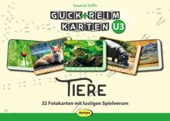 Guck+ReimKarten U3 - Tiere