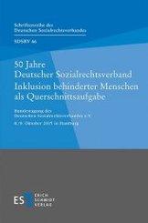 50 Jahre Deutscher Sozialrechtsverband Inklusion behinderter Menschen als Querschnittsaufgabe