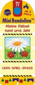 MiniBandolino (Spiele): Kleine Rätsel rund ums Jahr (Kinderspiel); Set.77