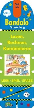 Bandolino (Spiele): Lesen, Rechnen, Kombinieren (Kinderspiel); Set.55