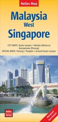 Nelles Map Malaysia: West, Singapore