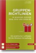 Gruppenrichtlinien in Windows Server 2016, 2012 und 2008 R2, m. DVD-ROM