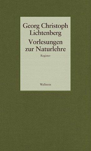 Gesammelte Schriften; Vorlesungen zur Naturlehre; Bd.7