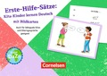 Erste-Hilfe-Sätze: Kita-Kinder lernen Deutsch mit Bildkarten