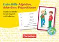 Erste-Hilfe-Adjektive, Adverbien, Präpositionen Grundschulkinder lernen Deutsch mit Bildkarten