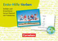 Erste-Hilfe-Verben: Schüler und Erwachsene lernen Deutsch mit Fotokarten