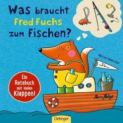 Was braucht Fred Fuchs zum Fischen?