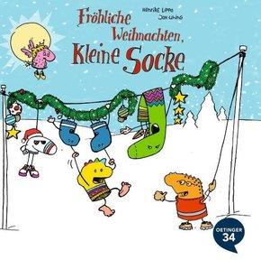 Fröhliche Weihnachten, kleine Socke!