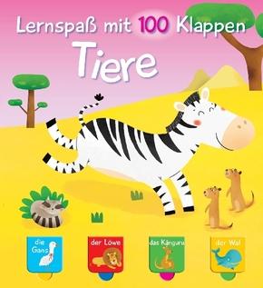 Lernspaß mit 100 Klappen - Tiere