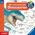 Wir erforschen die Dinosaurier, Audio-CD - Wieso? Weshalb? Warum? Tl.55