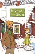 Pettersson und Findus Adventskalender-Karte