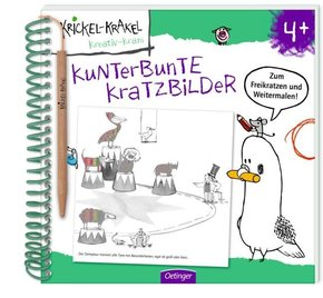 Krickel-Krakel Kratzbilder