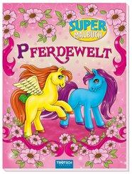 Super-Malbuch Pferdewelt
