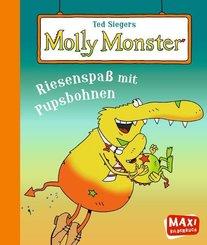 Ted Siegers Molly Monster: Riesenspaß mit Pupsbohnen