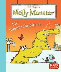 Ted Siegers Molly Monster: Die Superzahnbürste - Maxi Bilderbuch