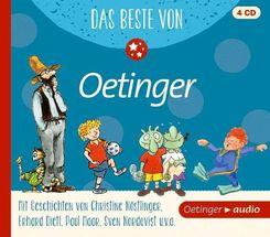 Das Beste von Oetinger, 4 Audio-CDs