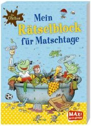 Die Olchis - Mein Rätselblock für Matschtage