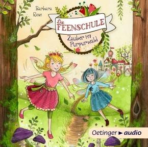 Die Feenschule - Zauber im Purpurwald, 1 Audio-CD