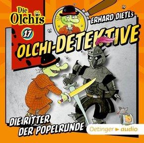 Olchi-Detektive - Die Ritter der Popelrunde, 1 Audio-CD