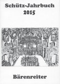 Schütz-Jahrbuch 2015