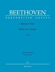 Messe C-Dur op. 86, Klavierauszug