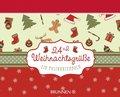 24+2 Weihnachtsgrüße, Aufstellbuch