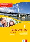 Découvertes - Série jaune: Fit für Tests und Klassenarbeiten, m. Audio-CD; Bd.5