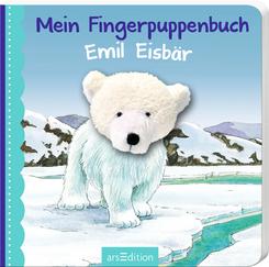 Mein Fingerpuppenbuch Emil Eisbär, m. Fingerpuppe