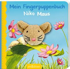 Mein Fingerpuppenbuch Niko Maus, m. Fingerpuppe