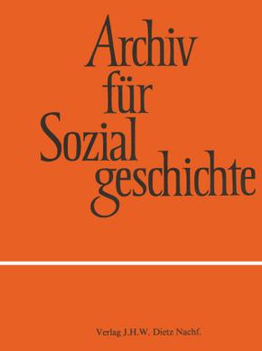 Archiv für Sozialgeschichte: Sozialgeschichte des Kapitalismus; 56