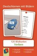 Deutschlernen mit Bildern: Verben, Bildkarten