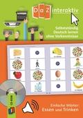 Selbstständig Deutsch lernen ohne Vorkenntnisse - einfache Wörter: Essen und Trinken, 1 CD-ROM