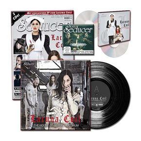 "Sonic Seducer: Titelstory ""Lacuna Coil"", m. Schallplatte (Single) + 2 Audio-CDs (Limited Vinyl Edition); Lim.-Ausg.2016/05"