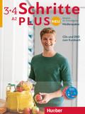 Schritte plus Neu - Deutsch als Fremdsprache / Deutsch als Zweitsprache: Medienpaket, 5 Audio-CDs und 1 DVD zum Kursbuch; Bd.3+4