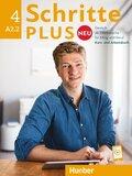 Schritte plus Neu - Deutsch als Fremdsprache: Kurs- und Arbeitsbuch, m. Audio-CD zum Arbeitsbuch; Bd.4