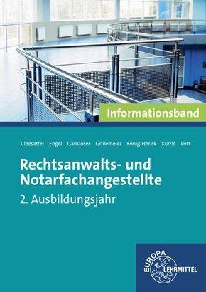 Rechtsanwalts- und Notarfachangestellte, 2. Ausbildungsjahr, Informationsband