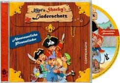 Käpt'n Sharkys Liederschatz, Audio-CD