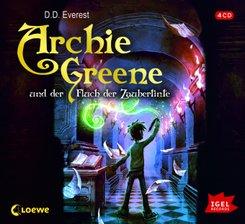 Archie Greene und der Fluch der Zaubertinte, Audio-CD