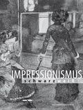 Impressionismus schwarz/weiss