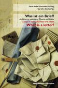Was ist ein Brief? / What is a letter?