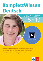 KomplettWissen Deutsch Gymnasium Klasse 5-10
