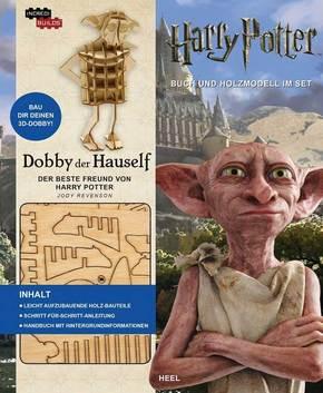 IncrediBuilds: Dobby der Hauself - Buch und 3D-Holzmodell