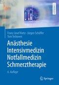Anästhesie, Intensivmedizin, Notfallmedizin, Schmerztherapie