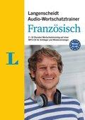 Langenscheidt Audio-Wortschatztrainer Französisch für Anfänger, 1 MP3-CD