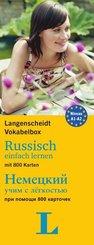 Langenscheidt Vokabelbox Russisch einfach lernen