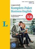 Langenscheidt Komplett-Paket Business English, 2 Bücher, 3 Audio-CDs und Software-Download