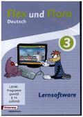 Flex und Flora - Deutsch: Lernsoftware 3, 1 CD-ROM