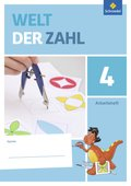 Welt der Zahl, Allgemeine Ausgabe 2015: 4. Schuljahr, Arbeitsheft; Bd.4