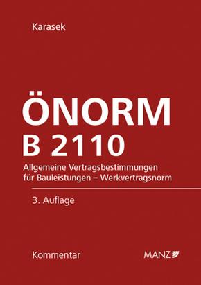 ÖNORM B 2110, Kommentar